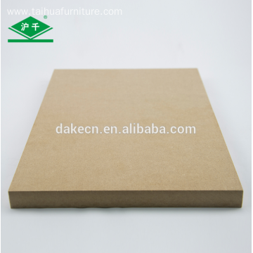 Plain MDF 1220x2440x18mm E1 for furniture